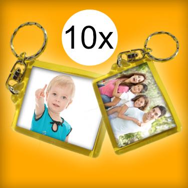 Extra családi csomag - sima kulcstartó (10 db kulcstartó)